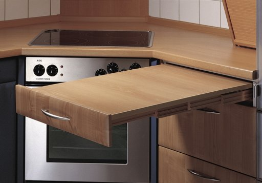Groupe sofive msafrance amenagement interieur tables for Table escamotable dans meuble de cuisine
