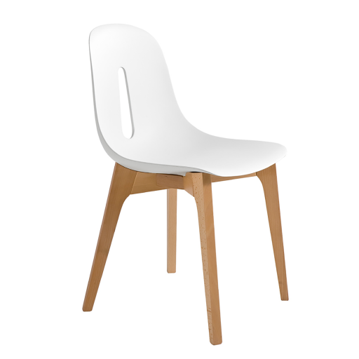 Groupe sofive for Chaise bois blanc