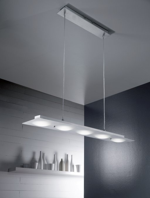 Lampes de cuisine suspension suspension led 5 watts for Luminaire cuisine suspension