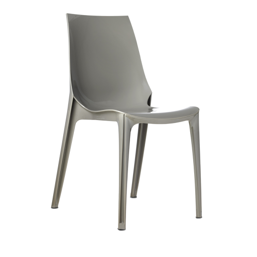 Chaise gris taupe amazing chaise grise bois with chaise - Chaises couleur taupe ...