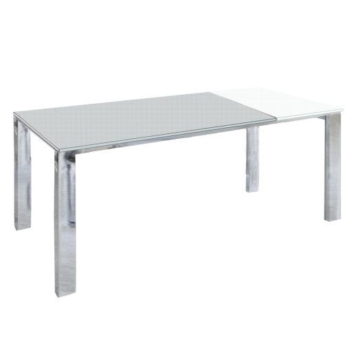 Groupe sofive crealigne tables bazic d184c for Table verre blanc extensible